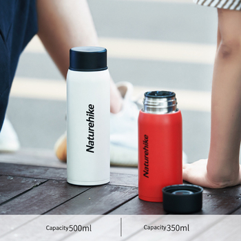 Naturehike 500ml 350ml Vacuum Stainless Steel Insulation Kettle Cup Student Insulation Cup Men Women Outdoor Travel Portable Cup