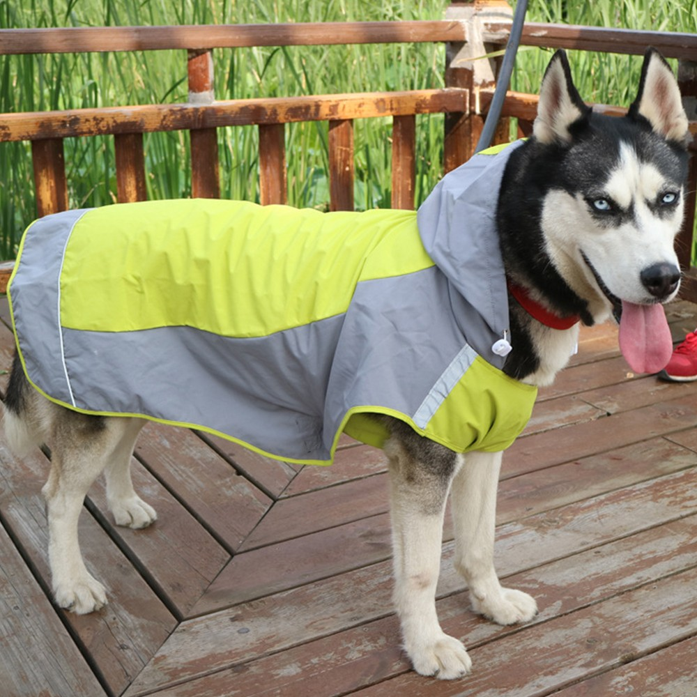 Pet Dog Waterproof Raincoat Summer Outdoor Pet Rain Coat for Small Medium Large Dogs Animal Apparel Clothes Pet Supplies Raincoa