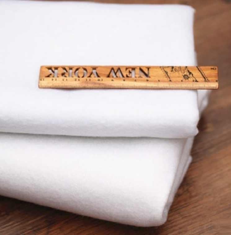 Doublure en coton adhésif simple Face coton remplissage de bâton Patchwork Quilting artisanat projets de bricolage