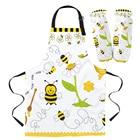 Bee Cartoon Apron Ov...