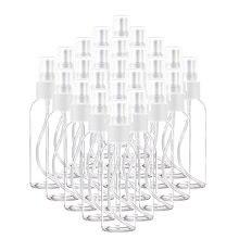 5PCS Portable Refillable Transparent Plastic Empty Spray Bottle 10ML/ 30ML/ 50ML/ 60ML/ 100ML Perfume Bottle Atomization