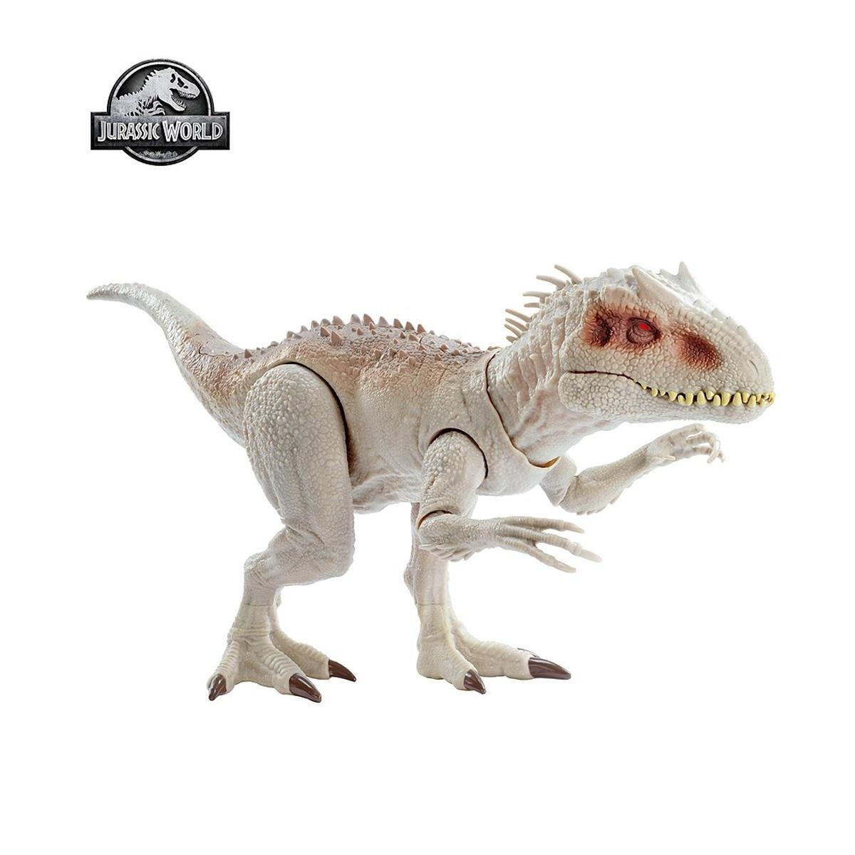 Jurássico mundo brinquedo dinossauros brinquedo tyrannosaurus indominus rex mordendo movimentos e efeitos sonoros ferozes brinquedos dinossauro gct95