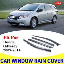 Козырек для окна honda odyssey 2009 2014 автомобильные дождевики
