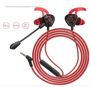 Image 5 - Kulaklık kask CS oyunları için oyun kulak kulaklık 7.1 Mic ses kontrolü ile PC oyun kulaklık