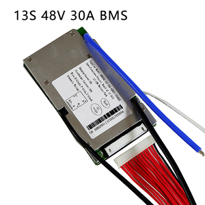Image 2 - Li ion battery BMS 13S 48V 20A, 30A, 40A and 50A BMS For 48V 500W 2000W lithium ion battery pack With balance function