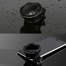 2-in-1 0.45X Wide Angle Lens 12.5X Macro with Clip for Smartphone SP99