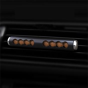 Odświeżacz powietrza do samochodu koraliki drewniane aromaterapia wnętrze samochodu perfumy odpowietrznik samochodowy dyfuzor dekoracja samochodu akcesoria tanie i dobre opinie DAYLYRIC CN (pochodzenie) Aromatherapy Car Air Freshener 10mm Stałe 50kg