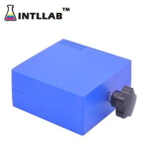 Image 5 - ห้องปฏิบัติการยกแพลตฟอร์ม Stand Rack กรรไกร Lab แจ็ค 100x100mm (4 X 4) พลาสติกและสแตนเลสสตีล
