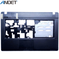 Novo original para lenovo g460 g465 palmrest capa teclado moldura caso superior com touchpad