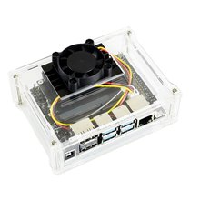 Dust Resistance Acrylic Clear Case Type A For The Jetson Nano Developer Housing With Screws Wifi Module