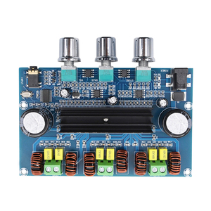 Image 4 - Bluetooth 5.0 TPA3116D2 Digital Power Amplifier Board 2.1 Channel 2*50W+100W Stereo Power Audio Class D Bass Subwoofer Amplifier