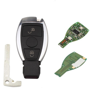 Image 2 - 2 3 3+1 Button Smart Remote Key 315mhz/433mhz fob for Mercedes Benz after 2000+ NEC&BGA replace NEC Chip with logo