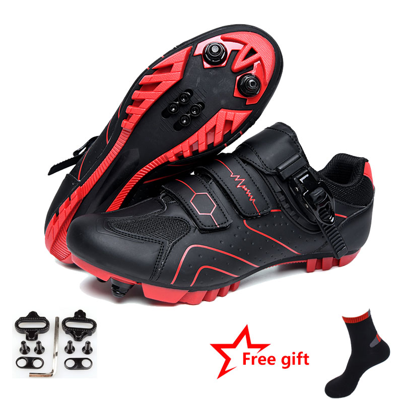 MTB road cycling shoes Breathable Self-Locking Bike Shoes men women Ultralight Athletic Racing Sneakers Zapatos Ciclismo