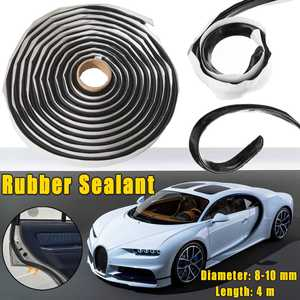 2 PCS 4 Meters Car Rubber Seal