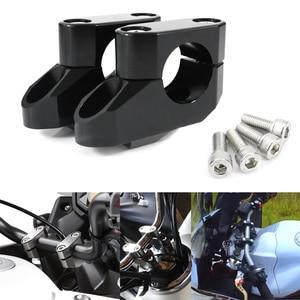 """For Honda CB650R CB1000R CB500X/F CBF125NA VFR1200X 800X CBF300NA CTX700 1300 28mm 1 1/8"""" Handlebar Riser Back Moved Up Fat Bar(China)"""
