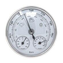 Аналоговый барометр, термометр, гигрометр, настенный монитор температуры и влажности, измеритель атмосферного давления для домашнего использования
