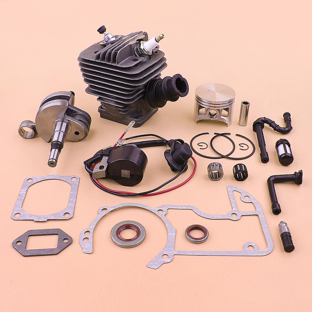 For Coil 066 54mm 660 Stihl Filter Gasket Fuel Crankshaft Line Kit Ignition MS660 Set Oil MS Cylinder Hose Piston