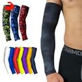 KoKossi цельный Быстросохнущий УФ-защита для бега, рукава для баскетбола, локтя, спортивные нарукавники для фитнеса, велосипедные нарукавники