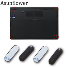 Asunflower 4Pcs Rubber Feet Foot For HP EliteBook Folio 9470M 9480M Bottom Base Cover For HP 9470m 9480m  Rubber Feet Foot Pads
