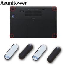Резиновые ножки Asunflower для HP EliteBook Folio, 4 шт., 9470 м, 9480 м, Нижняя основа для HP 9470 м, 9480 м, резиновые ножки