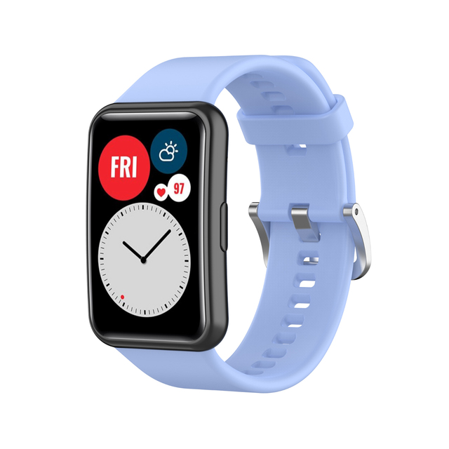 Strap For Huawei Watch Fit Band For Huawei Smart Watch Fit 2020 Strap With TPU Soft Protective Cover Full Screen Protector Case 5