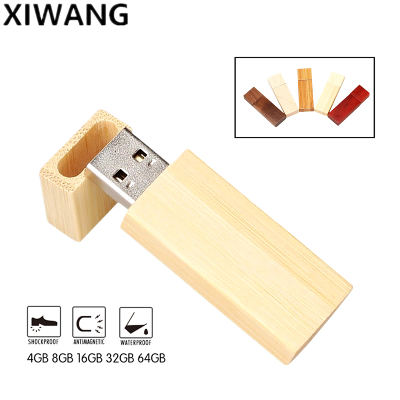 nature wooden USB flash drive usb 2.0 4GB 8GB pendrive 16GB pen drive 32GB 64gb 128gb creative usb memory stick Free custom logo-in USB Flash Drives from Computer & Office