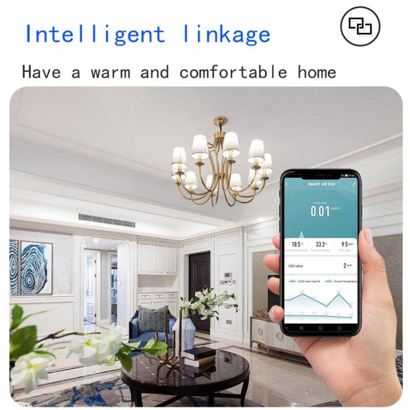 carbono automação alarme detector casa inteligente