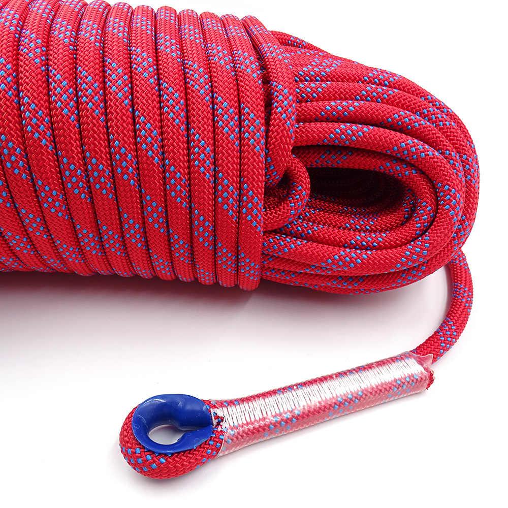 Homyl 10 Piezas de Protectora Cubierta de Cuerda de Escalada de Roca de Seguridad de Plastic/ó