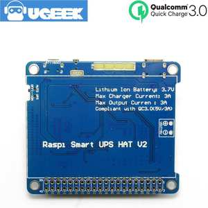 Raspberry Pi zéro UPS Power Board dispositif de détection avec Intégré Serial Board