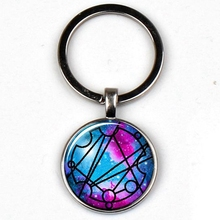 Keyring Crystal-Pendant-Keychain Symbol Doctor Who Best-Friend Jewelry Souvenir Gift