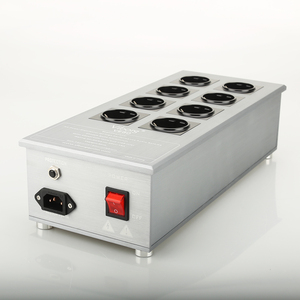 Image 1 - Viborg VE80 HiFi Power Filter Plant Schuko Socket Brand New Schuko 8 Gang Power Distribution