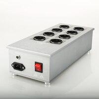 Viborg VE80 HiFi Power Filter Plant Schuko Socket Brand New Schuko 8 Gang Power Distribution