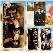 Oedmeb Cover For iPhone 4S 5S 5C SE 6S 7 8 Plus X Galaxy Note 5 6 8 S9+ Grand Core Prime Alpha The Twilight New Moon(China)