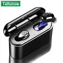 X8 Tws Bluetooth True Wireless Earphone 5D Stereo Speaker Mini Mini Tws Tahan Air Headfrees Power Bank 2200 MAh untuk Ponsel Pintar(China)