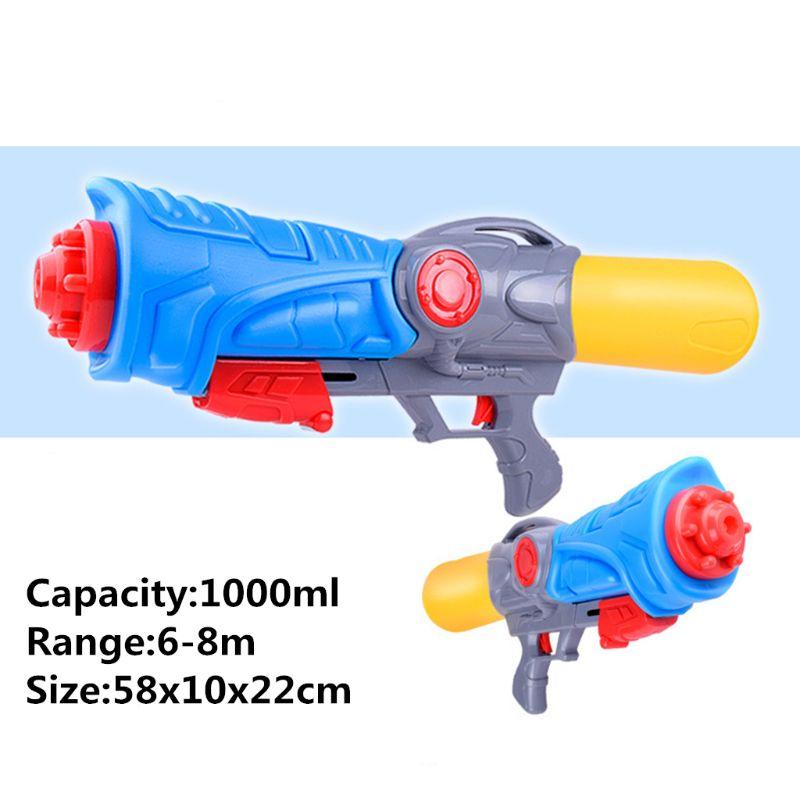 cheapest 1 Pc Mini Summer Children Fight Beach Kids Blaster Toy Pistol Transparant Squirt Water Gun Summer Outdoor Toys