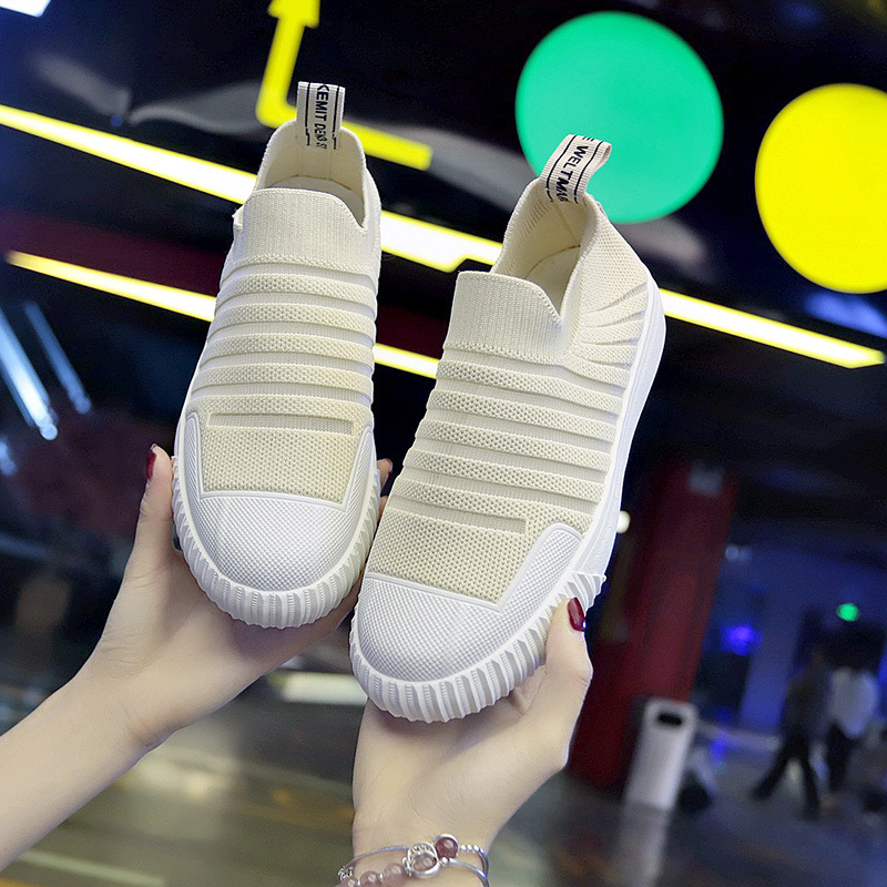 Women's Shoes Comfortable Autumn Fashion New Knit Summer Casual Mesh