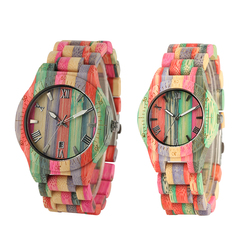 Full Bamboo Handmade Watches Women Multiful Color Casual Quartz Wood Watches Gifts Wooden Watches Men reloj hombre