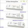 Горячая CV DALI Led Диммер контроллер  1CH/3CH/4CH Диммирование/RGB/RGBW Диммируемый драйвер контроллер для светодиодной ленты светильник  DC12-24V