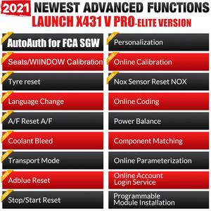 Image 4 - LAUNCH – X431 V V4.0 mini scanner de voiture professionnel, outil de Diagnostic automobile, système complet, lecteur de Code OBD, OBD2