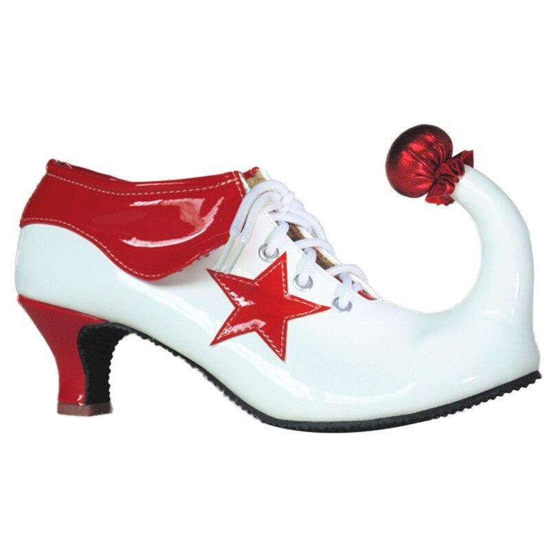 Это: обувь для костюмированной вечеринки; обувь для взрослых; женские ботинки; обувь на высоком каблуке для девушек; обувь для Хэллоуина; Бэт
