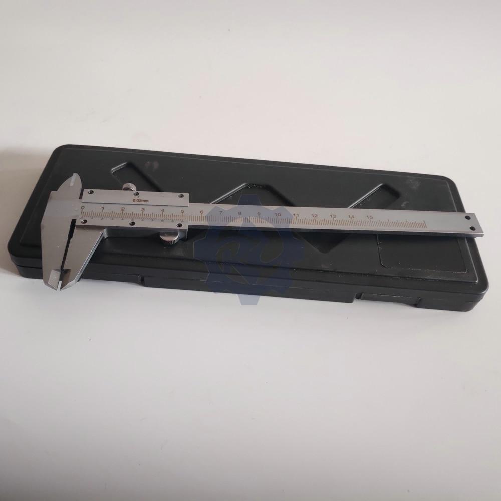 150 мм штангенциркуль из нержавеющей стали штангенциркуль металлический микрометр измерительный инструмент