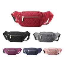 New Fashion Waist Bag Nylon Waterproof Fanny Pack Casual Women And Man Travel Sport Chest Bag Large Capacity Belt Bags Wallet