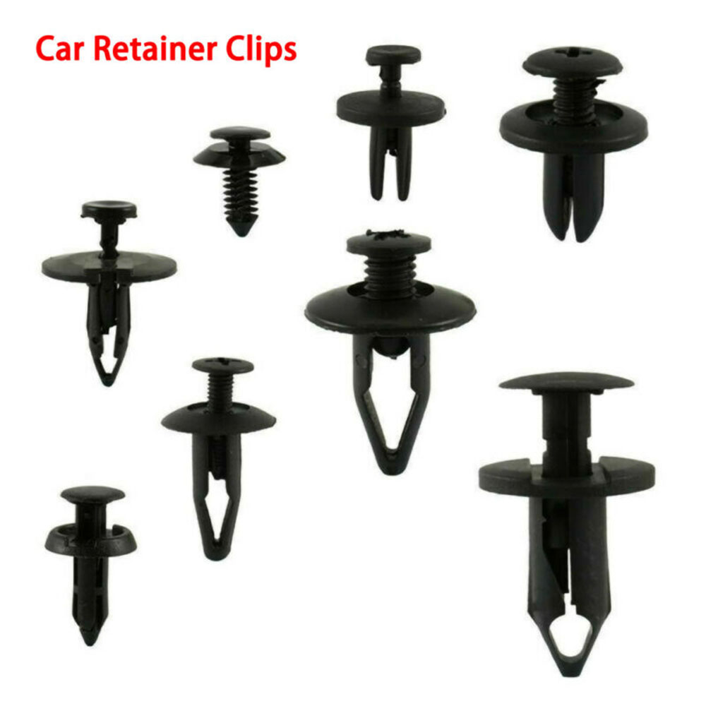 WINOMO 10pcs Car Automotive Trim Panel Push Pin Retainers Clips Replacement Bumper Fastener Rivet for Toyota Ford Chrysler