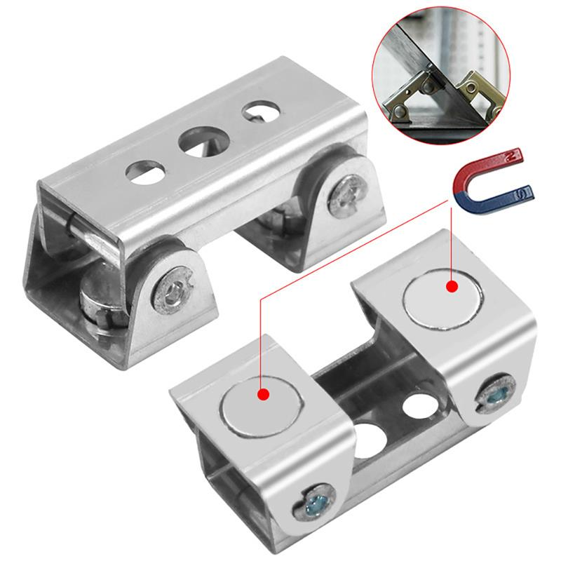 Youool Magnetic V-type Clamps V-shaped Magnetic Welding Holder Welding Fixture Adjustable Magnetic V-Pads Strong Hand Tool