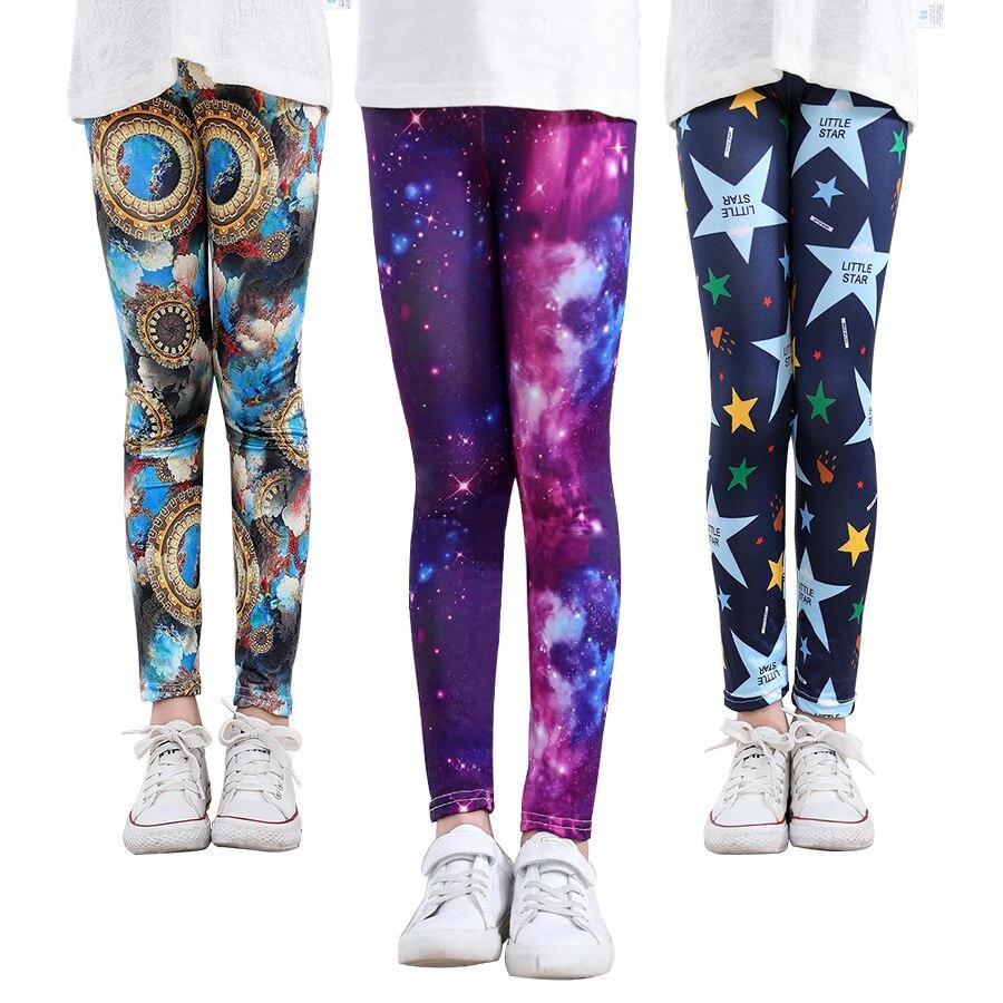 SheeCute Girls Print Leggings Baby Girl Clothes Kids Print Flower Skinny Leggings SC1752