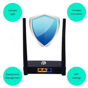 """Image 2 - האיחוד האירופי/ארה""""ב אלחוטי CPE 3G 4G Wifi נתב נייד Gateway FDD LTE WCDMAGlobal נעילה חיצוני אנטנות ה SIM כרטיס חריץ WAN/LAN יציאת"""