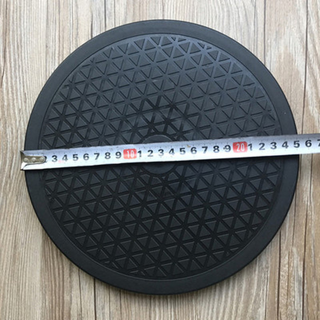 Plaque tournante rotative en céramique | Nouveau plastique noir, céramique de roue de poterie rotative robuste, paresseux Susans Sculpture en argile, plaque tournante rotative