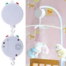 Music Box Baby Stroller Crib Bed Hanging Bell Parts Mobile Hanging Bell Toy 35 Song ABS Baby Musical Mobile Boxes High Quality(China)