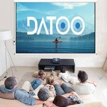 Datoo livego hd tela acessórios de projeção 4k filme para família acessórios de projeção datoo