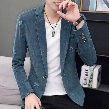 Men's Korean-Style Casual Coats